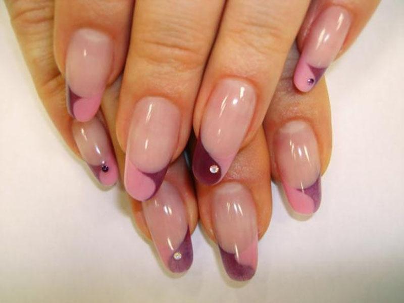 Оформление ногтей гель лаком